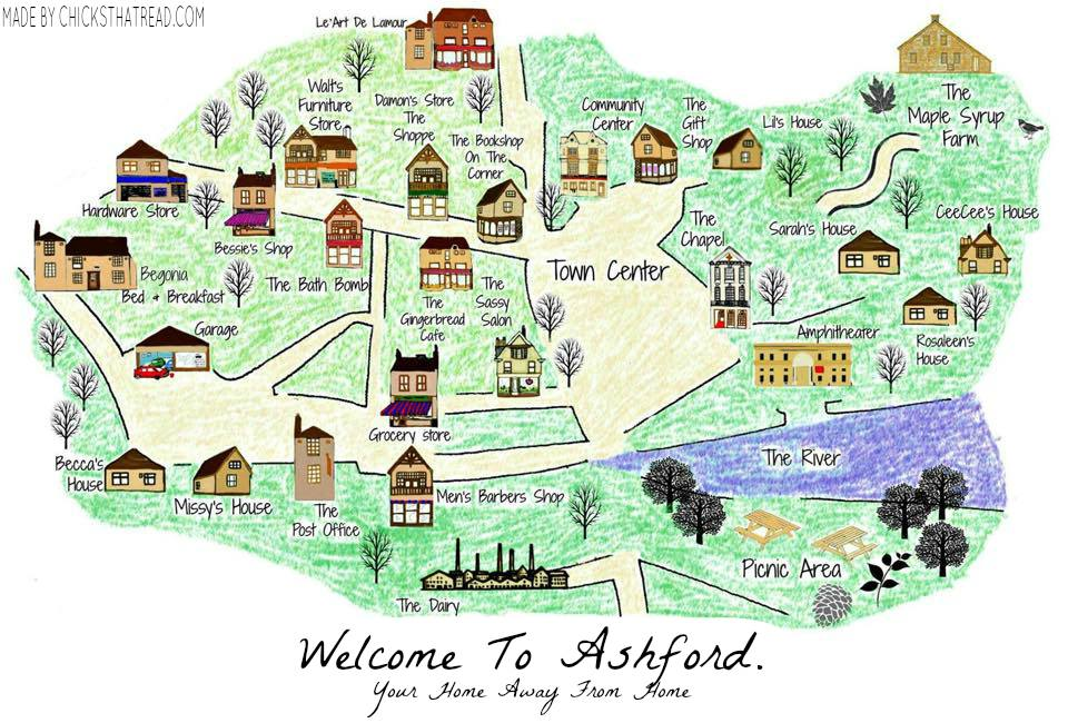 Ashford Map